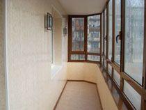 Отделка балкона в Владимире. Отделка лоджии